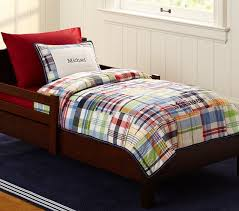 Madras Toddler Quilted Bedding
