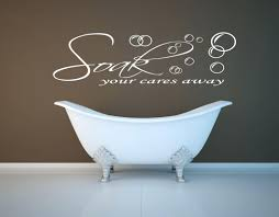 Decals For Bathrooms by Wall Art Decals For Bathroom Get Bathroom Wall Pictures Of