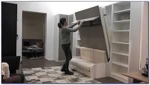 lit avec canapé lit escamotable avec canape integre