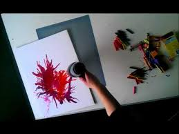 Watch Me Make Abstract Art Using Melted Crayons