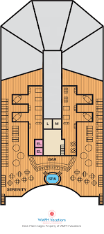 Images Deck Plans by Carnival Deck Plans Serenity Deck What S On Serenity