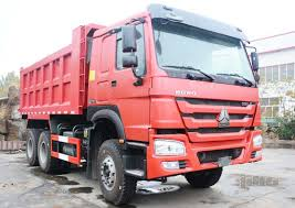 100 Pink Dump Truck Sinotruk Howo 6x4 18 CBMProductsSINOTRUK