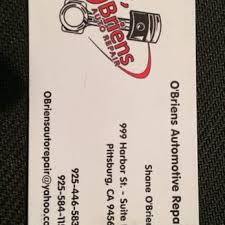 Tred Shed In Pittsburg California by O U0027briens Auto Repair 18 Reviews Auto Repair 999 Harbor St