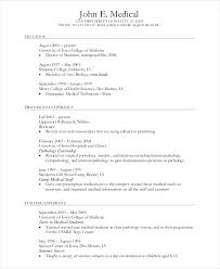 Medical Student Resume Sample Feat Chic Format On For Students