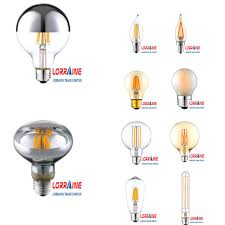 vintage style led light dimmable 6w 8w retro led filament bulb
