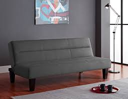 amazon com dorel home products kebo futon charcoal kitchen dining