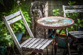 Free Images : Table, Chair, Green, Cottage, Backyard ...
