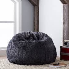 100 Furry Bean Bag Chairs For S Faux Fur Restoration Hardware Nyctophilia Design Come