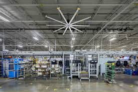 Hvls Ceiling Fans Residential by Industrial Hvls Ceiling Fans For Manufacturing Facilities From Big