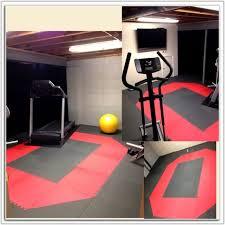 Home Gym Rubber Flooring Over Carpet