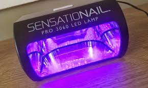 Sensationail Pro 3060 Led Lamp In Box by Classic Rouge September 2013