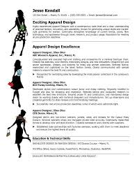 Free Apparel Designer Resume Example