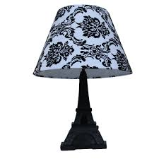 Eiffel Tower Bathroom Decor by Simple Designs Paris 16 In Black Eiffel Tower Table Lamp With