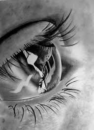 Photorealistic Pencil Drawing Love The Eyelashes Eye