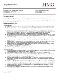 100 Project Coordinator Resume Office 233788 10 Job