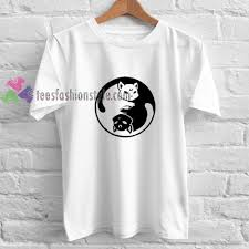 cat t shirts yinyang sailormoon cat t shirt gift tees unisex cool shirts
