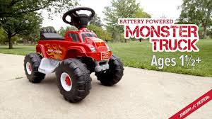 Radio Flyer Battery Powered Monster Truck With Lights & Sounds - YouTube Little Red Fire Engine Truck Rideon Toy Radio Flyer Designs Mein Mousepad Design Selbst Designen Apache Classic Trike Kids Bike Store Town And Country Wagon 24 Do It Best Pallet 7 Pcs Vehicles Dolls New Like Barbie Allterrain Cargo Beach Wagons Cool For Cultured The Pedal 12 Rideon Toys Toddlers And Preschoolers Roadster By Zanui Amazoncom Games 9 Fantastic Trucks Junior Firefighters Flaming Fun