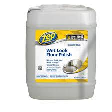 Zep Floor Finish On Rv zep 5 gallon wet look floor polish zuwlff5g the home depot