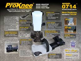 about model 0714 professional knee pads proknee