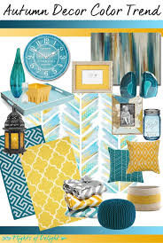 Teal And Yellow Decor Home Decorating Ideas