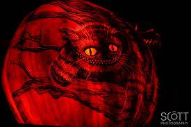 Cheshire Cat Pumpkin Template by 2014 Roger Williams Jack O Lantern Spectacular Scott Sousa