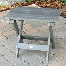 Highwood King Size Adirondack Chairs by Highwood Folding Adirondack Side Table Coastal Teak