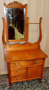Tiger Oak Serpentine Dresser by Antique Oak Washstand With Mirror Best 2000 Antique Decor Ideas
