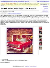 For $2,000, Be A Rambler-in Man (Or Woman) Mobility Classifieds Ams Vans 3wheelers For Sale Find Sale By Owner New 3 South Carolina Craigslist Qq9info Handicap Owner In Youtube 1978 Ford F150 Classics On Autotrader Used Cars Trucks Near Buford Atlanta Sandy Springs Ga Junkyard 1987 Dodge Raider The Truth About Toyota Motorhome Class C Rv For Pictures Drivins Classic Amc Classiccarscom Sales In Sc
