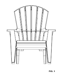 Little Tikes Garden Chair Orange by Patent Usd607223 Adirondack Chair With Lumbar Support Google