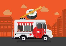 100 Sushi Truck Vector Download Free Vector Art Stock Graphics Images