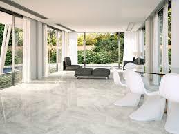 nairobi perla light grey marble effect ceramic floor tile 45x45 cm
