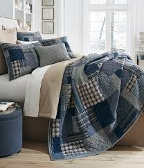 Noble Excellence Bedding by Cremieux Maxwell Patchwork Cotton Quilt Mini Set Bedrooms
