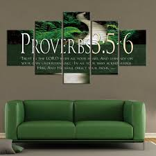 moderne stil bibel vers auf multi leinwand malerei sprüche