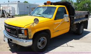 1998 GMC Sierra 3500 Dump Bed Truck   Item K5488   SOLD! Jul... 1989 Gmc 3500 Dump Truck For Auction Municibid Sierra 3500hd Reviews Price Photos And Used 2011 Chevrolet Hd 4x4 Dump Truck For Sale In New Jersey Chevy Carviewsandreleasedatecom Trucks 2005 Fire Red Regular Cab 4x4 Dually Chassis Chevrolet Ck Wikiwand Farming Simulator 2015 1998 Dump Truck Item E2538 Sold Febr Gmc Trucks Maryland Delightful Sale Used Work In