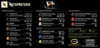NESPRESSO CAPSULE 16 GRANDS CRUS Ready Stock By GARKIN Coffee