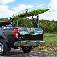 No Drill Ladder Rack Installed To Pickup Truck With Kayak ... X35 800lb Weightsted Universal Pickup Truck Twobar Ladder Rack Kargo Master Heavy Duty Pro Ii Pickup Topper For 3rd Gen Toyota Tacoma Double Cab With Thule 500xtb Xsporter Pick Shop Hauler Racks Campershell Bright Dipped Anodized Alinum For Trucks Aaracks Model Apx25 Extendable Bed Review Etrailercom Ford Long Beddhs Storage Bins Ernies Inc