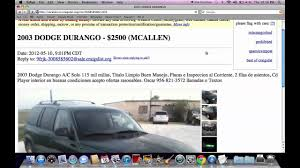 100 Craigslist Mcallen Trucks McAllen Texas Used Ford And Chevy Under 3000