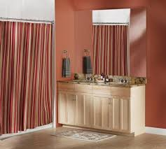 Menards Tension Curtain Rods by Moen Curved Shower Rod At Menards