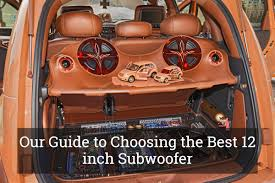 Our Guide To Choosing The Best 12 Inch Subwoofer (Aug, 2018) Our Guide To Choosing The Best 12 Inch Subwoofer Aug 2018 Goldwood Tr10f 10 Single Truck Box Speaker Cabinet Jbl Club Ws1000 Shallow Mount Tundra Crewmax Oem Audio Plus Basspro Sl Powered 8 Underseat Car Systems 52017 Ford Mustang Phantom Fit Enclosure How Build A Box For 4 Subwoofers In Silverado Youtube Amazing Carpet 24 Dual Sealed Regular Cab Sub Atrend Usa Custom Boxes