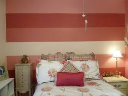 Painting Stripes Bedroom Walls With Lines Noerdin Com Lovely Wall Decoration In Girls Design Family