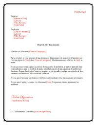 periode d essai cadre lettre de démission pour apprenti lettrededémission org