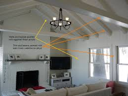 Using A Paint Sprayer For Ceilings by Paint Paneling Cabin Diy