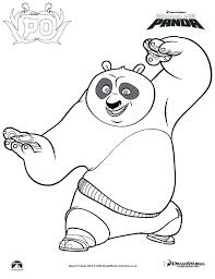 Kung Fu Panda Colouring Book 2 Coloring Pages