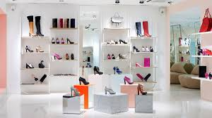 Ladys Shoes Store Display Fixtures With Mirror UD SH14