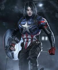 Bucky Barnes As Captain America 2