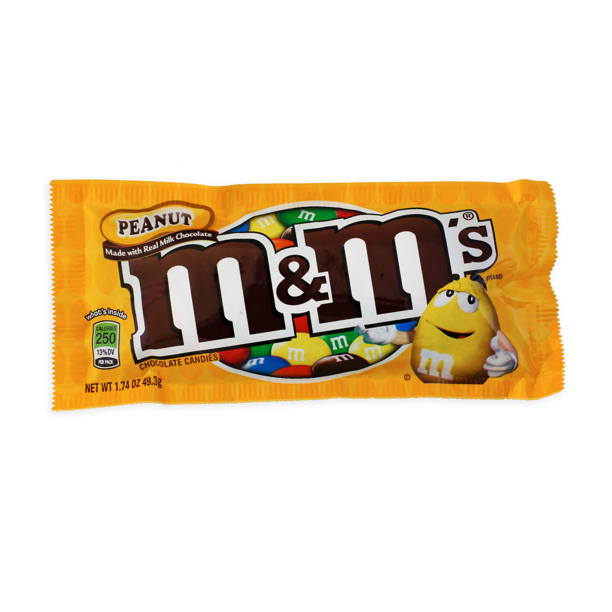 M&Ms Peanut Chocolate Candy