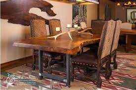 Rustic Dining Chairs Room Table With