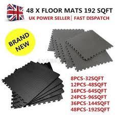 Foam Tile Flooring Uk by 48pcs Eva Foam Mats Tiles Gym Play Garage Workshop Floor