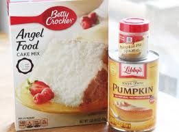 Cake Mix And Pumpkin by Pumpkin Angel Food Cake Recipe