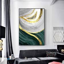 nordic modern light luxus stil abstrakt wohnzimmer